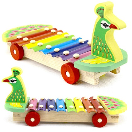 Toys for 2 Month Old Baby-peacock truck toy