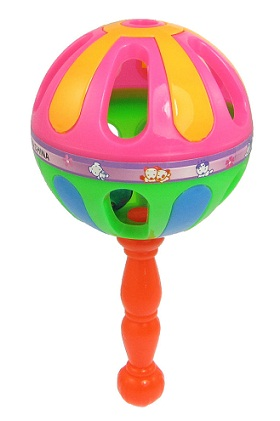 Toys for 3 month Old Baby-Lightweight rattles