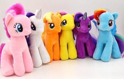 Toys for 3 month Old Baby-pony set for girls