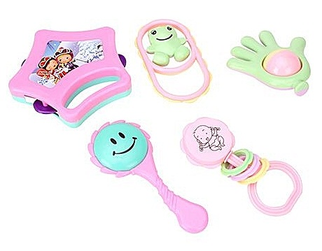 Toys for New Born Babies-The Rattle Set
