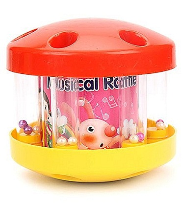 Toys for New Born Babies-The musical role rattle toy