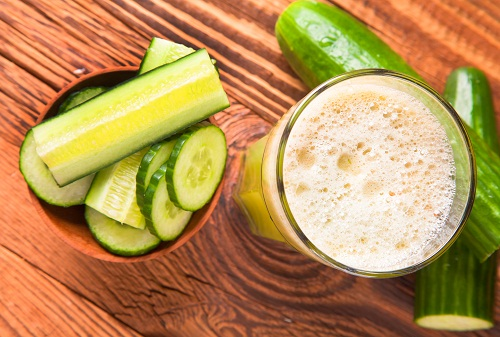 Vegetable Juice For Weight Loss - Cucumber Juice