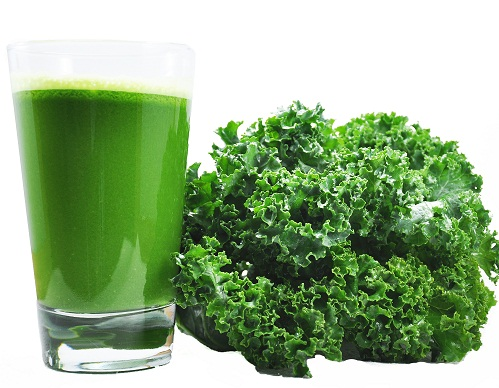 Vegetable Juice For Weight Loss - Kale Juice