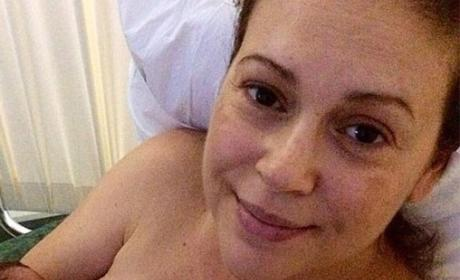 top 10 pictures of alyssa milano without makeup