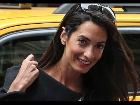 top 9 pictures of amal clooney without makeup  styles at life