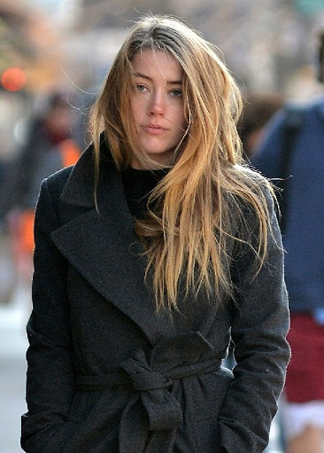 Amber Heard without makeup1