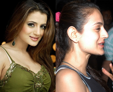 Amisha Patel without makeup2
