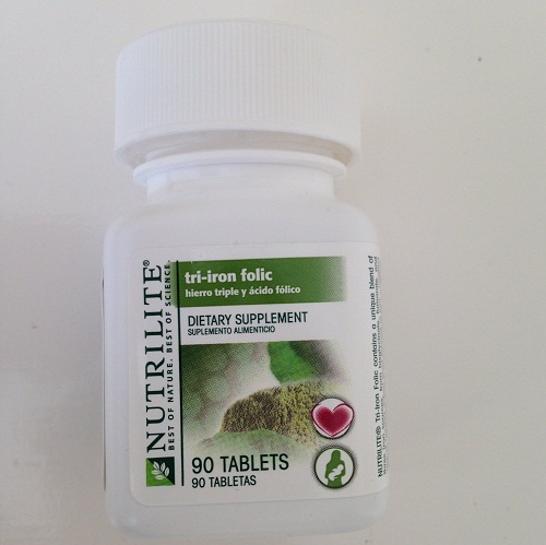 Amway Nutrilite Triiron Folic 90 Tablets