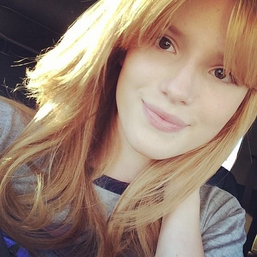 Bella Thorne Without Makeup