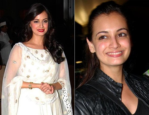 Dia Mirza Without Makeup 2
