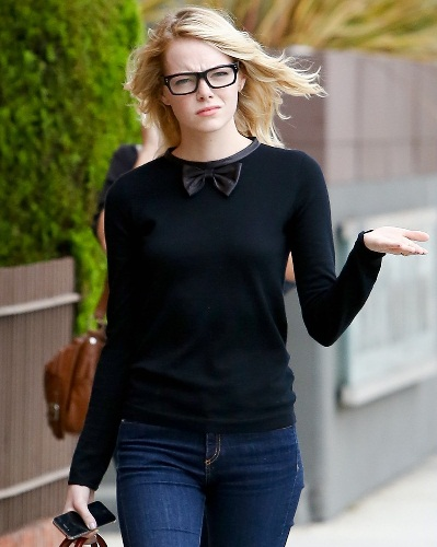 Emma Stone Without Makeup 2