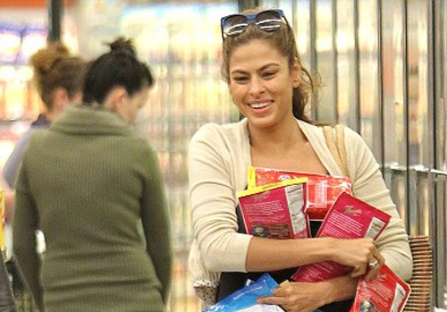 Eva Mendes Without Makeup 1