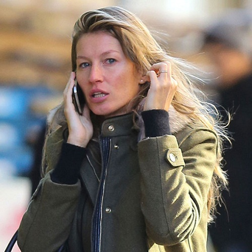 Gisele Budchen Without Makeup 1
