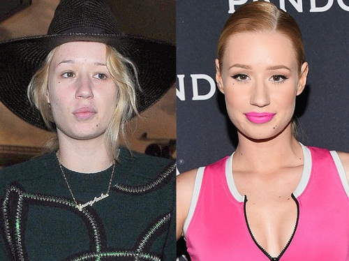 Iggy Azalea Keeps Her Look Makeup Free for Travel | Iggy ...