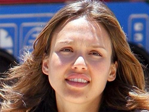 Jessica Alba Without Makeup 1