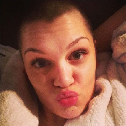 Jessie J without makeup 3