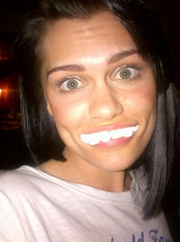Jessie J without makeup 9