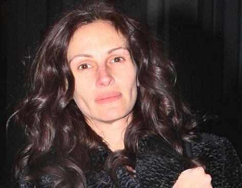 Julia Roberts without makeup 1