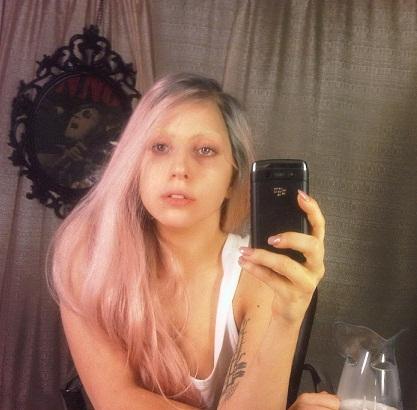 Lady Gaga without makeup10