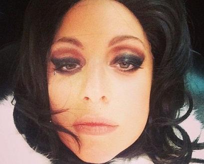 Lady Gaga without makeup2