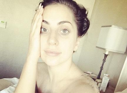 Lady Gaga without makeup4