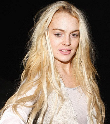 Lindsay Lohan without makeup8