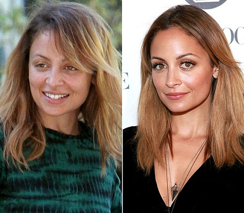 Nicole Richie without makeup6