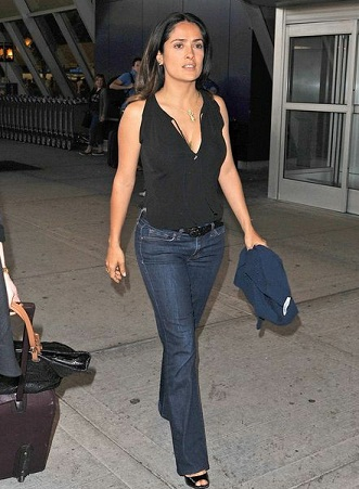 Salma Hayek without makeup4