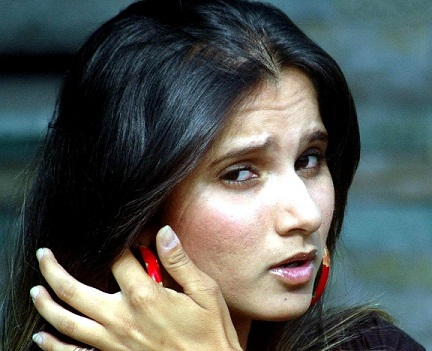 Sania Mirza without Makeup 2