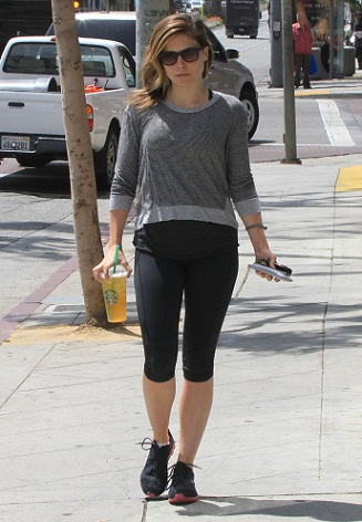 Sophia Bush out and about