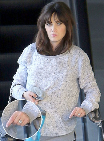 Zooey Deschanel without makeup15