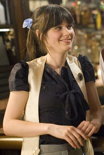 Zooey Deschanel without makeup9