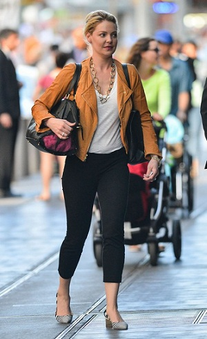 Katherine Heigl Spotted And About Out In New York