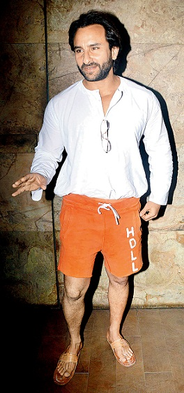 Saif Ali Khan Without Makeup