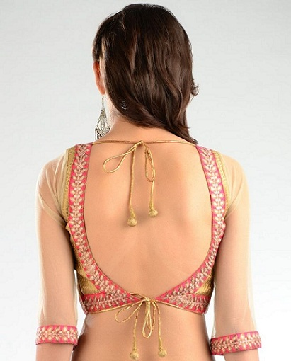 Backless blouse designs13