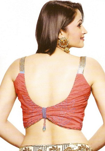 Backless blouse designs14