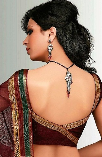 Backless blouse designs4