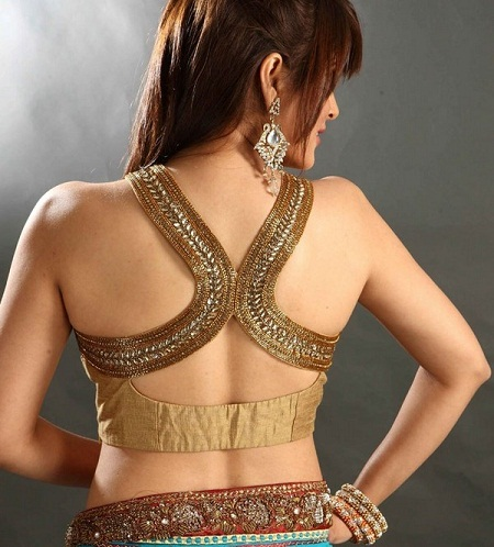 Backless blouse designs5
