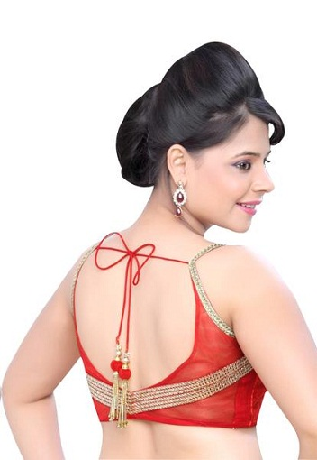 Backless blouse designs8