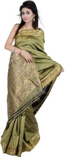 Baluchari Sarees-Hand Woven Baluchari Saree 6