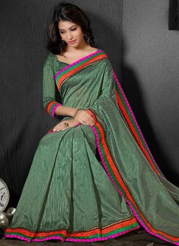 Bhagalpuri Sarees-Lavish Bhagalpuri Designer Saree 15