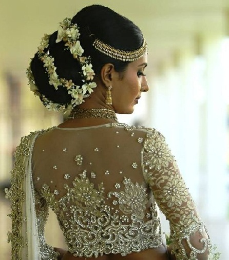 9 amazing blouse back neck designs with stone work