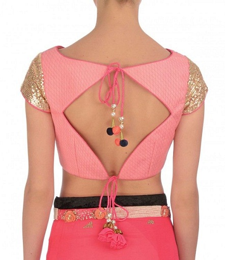 Blouse Back Neck Designs4