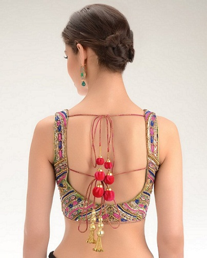 Blouse Back Neck Designs8