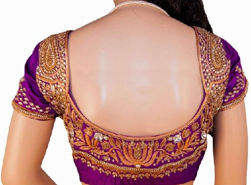 Blouse Designs with Border15