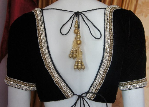 Blouse Designs with Border7