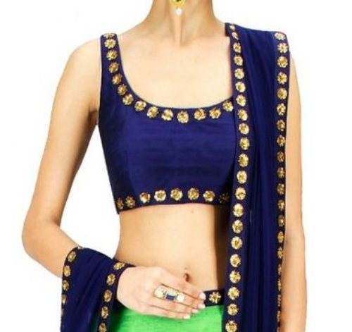 Blouse Piece from Saree design
