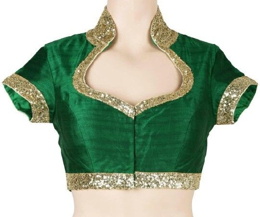 Blouse front neck designs8
