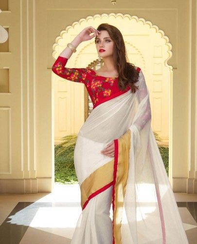 Designer blouse designs for silk sarees8