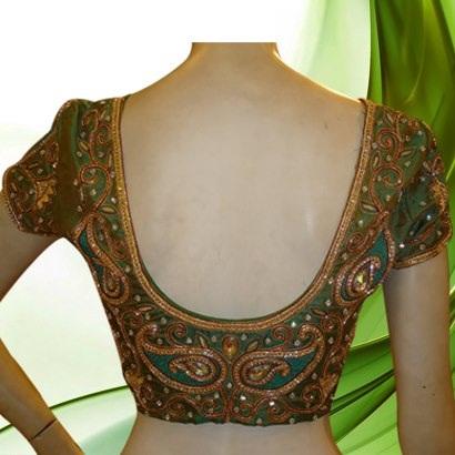 Designer blouse patterns back neck4